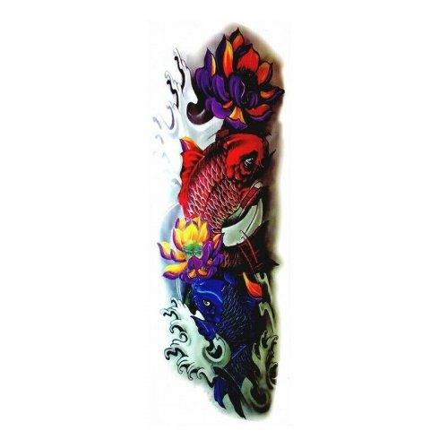 Временна татуировка риба