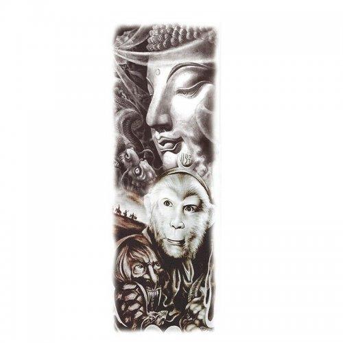 Временна татуировка с маймуна