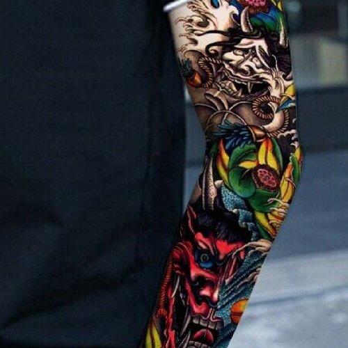 Временни татуировки за цяла ръка