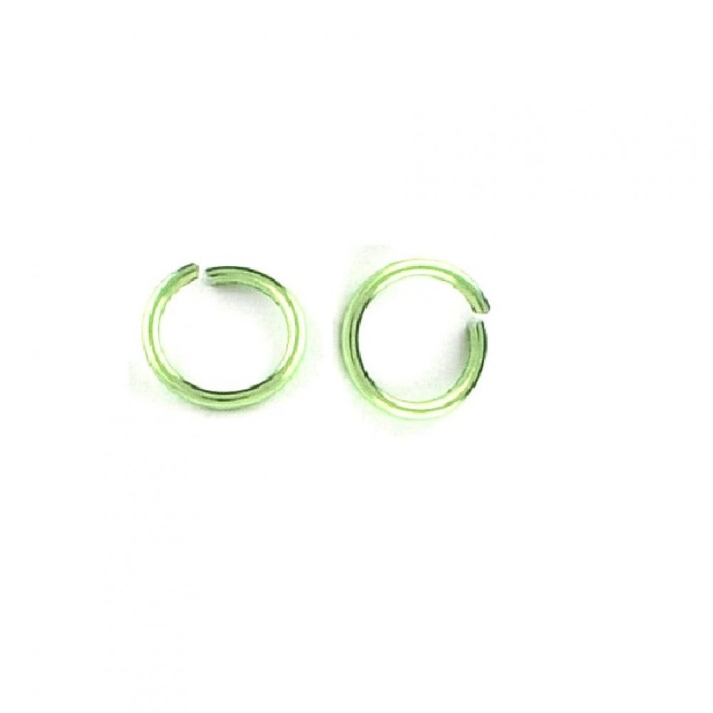 Халки за плитки 6 милиметра зелени