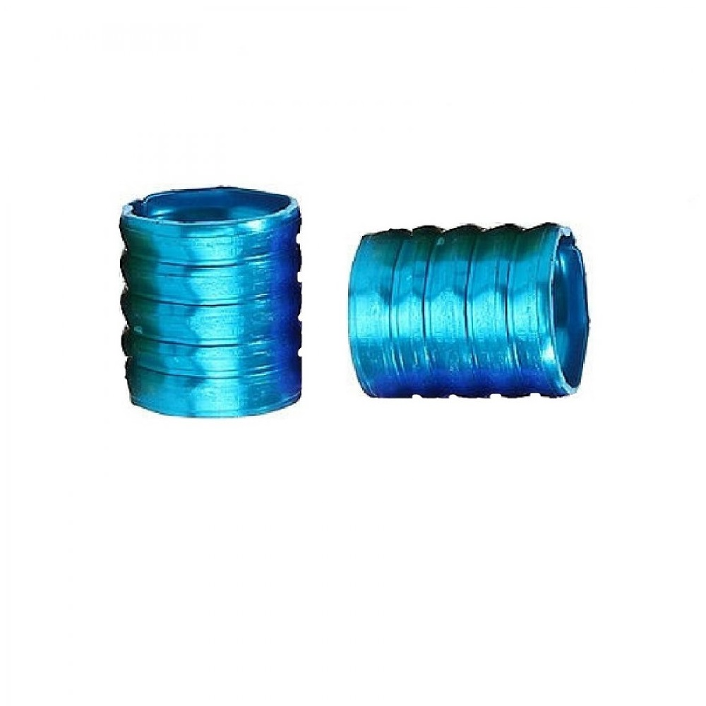 Сини пръстени за плитки