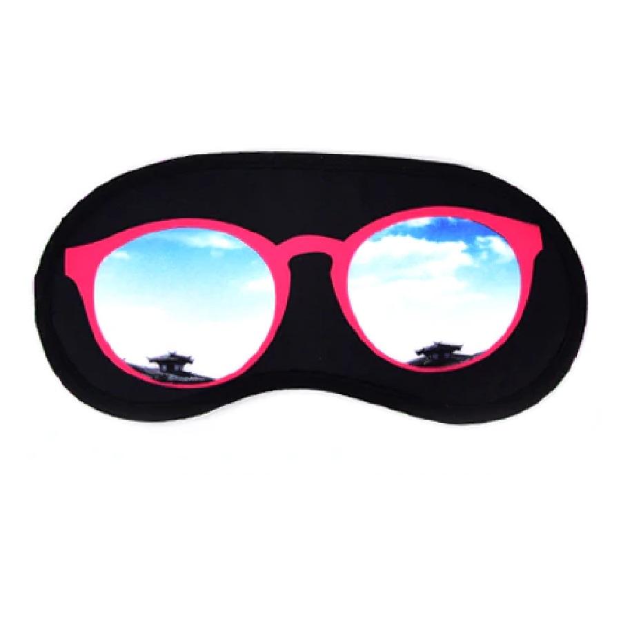 3D маска огледални очила за пътуване
