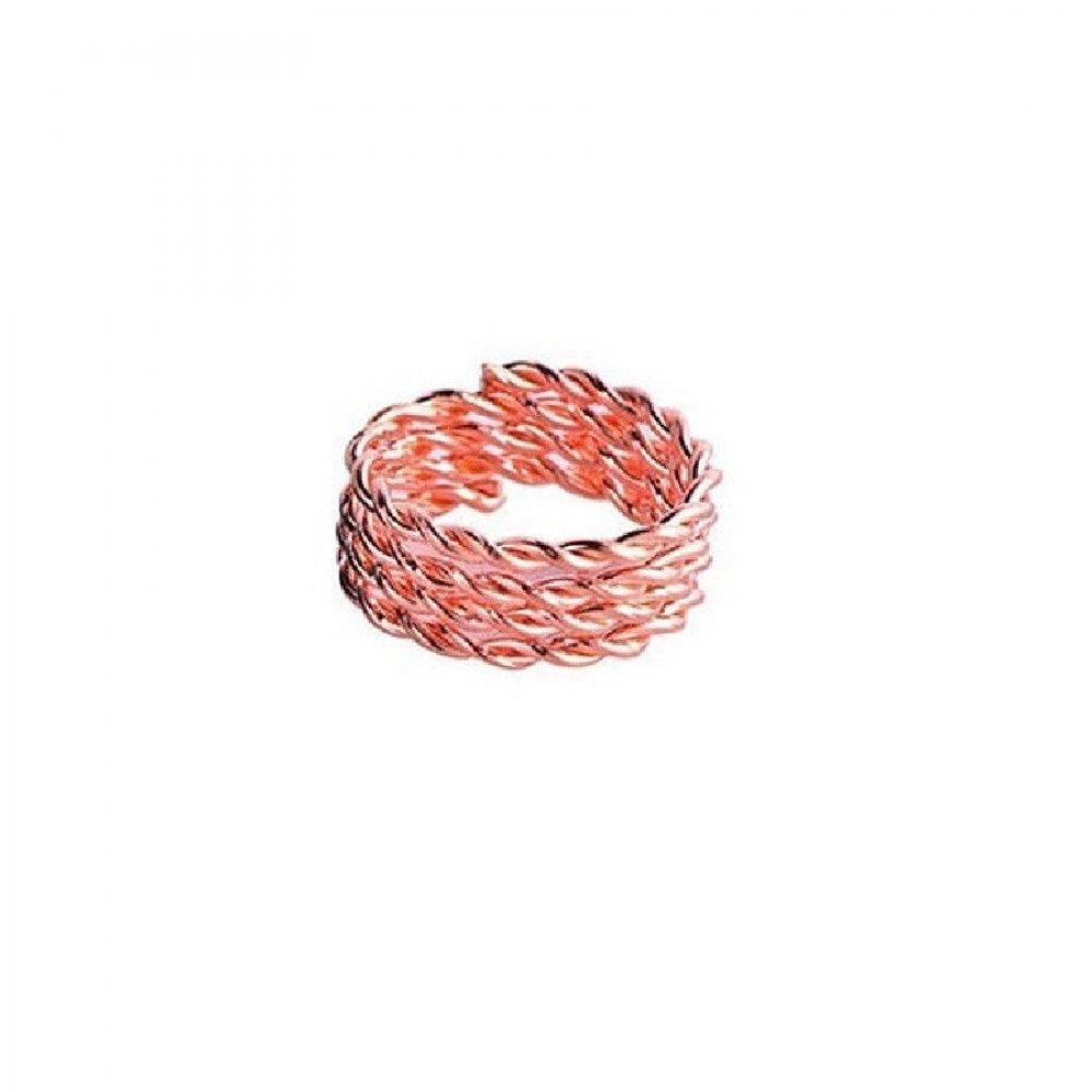 Обица за коса розово червен пръстен халка