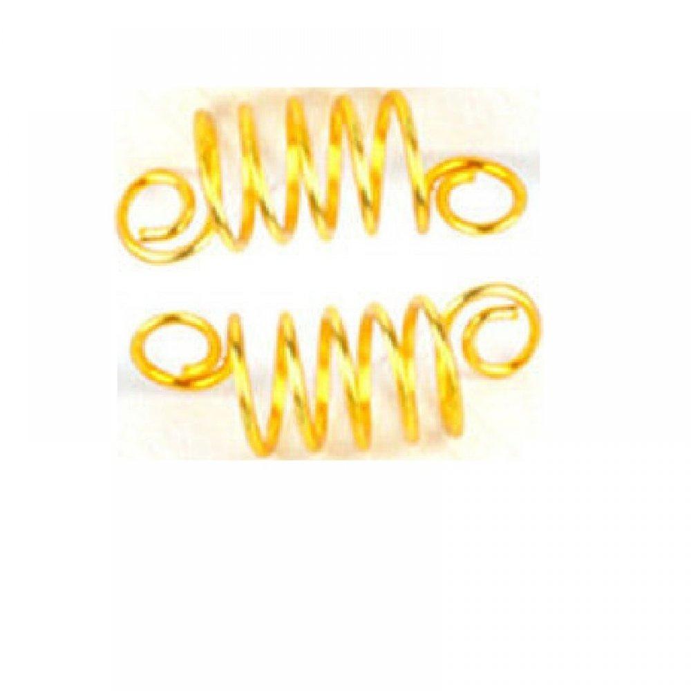 Златни спирали за плитки