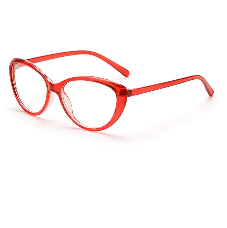 Червени котешки очила за компютър