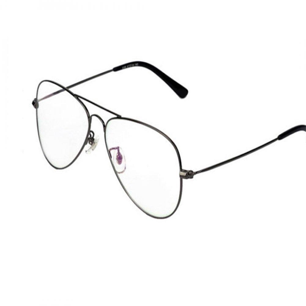 Прозрачни очила бъбрек сиви рамки