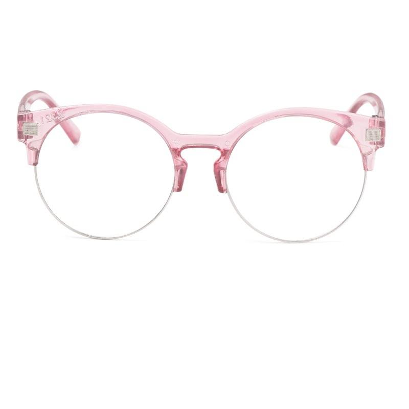 Светло розови очила за компютър за деца