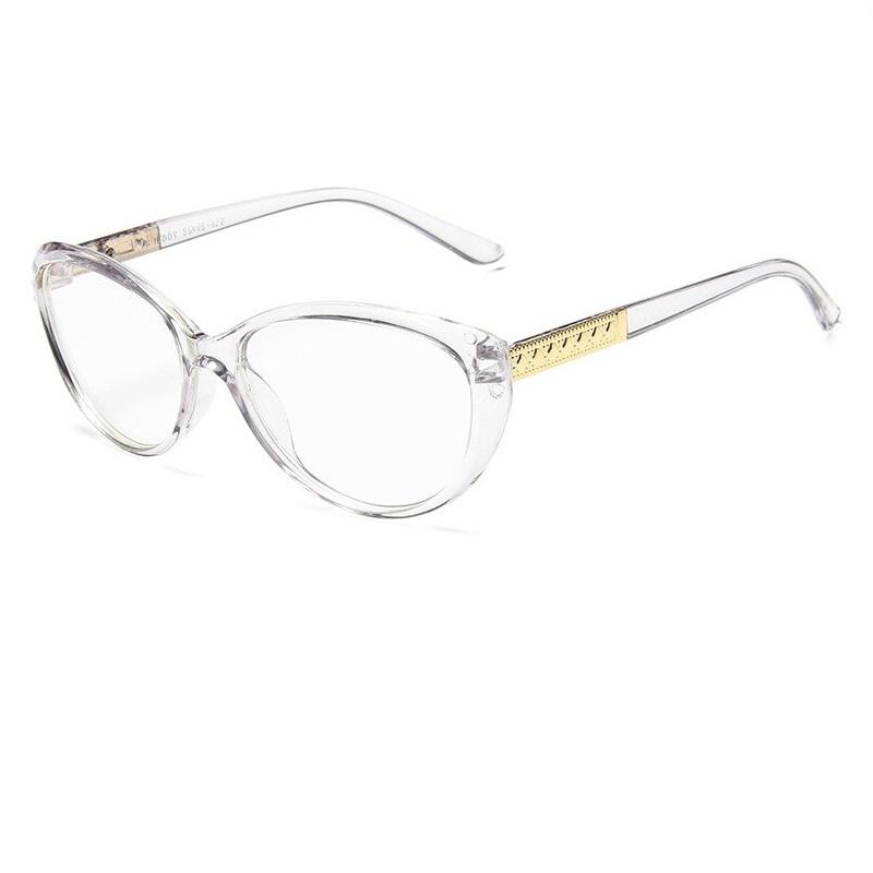 Котешки очи в кристални очила