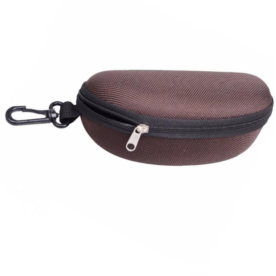 Кутия за очила с карабинер за закачане на раница