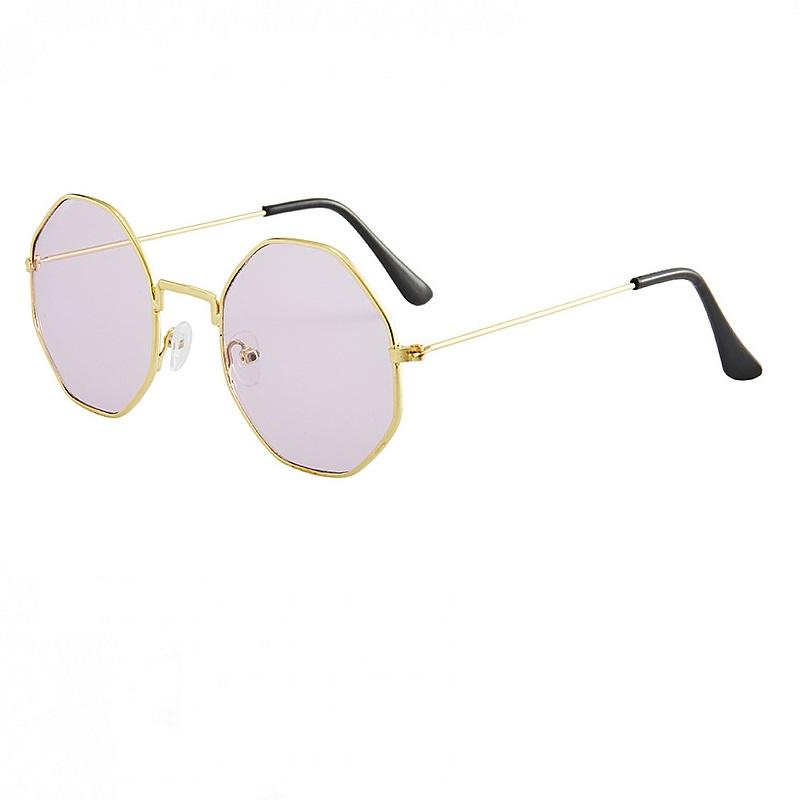 Октагон очила тънки метални рамки