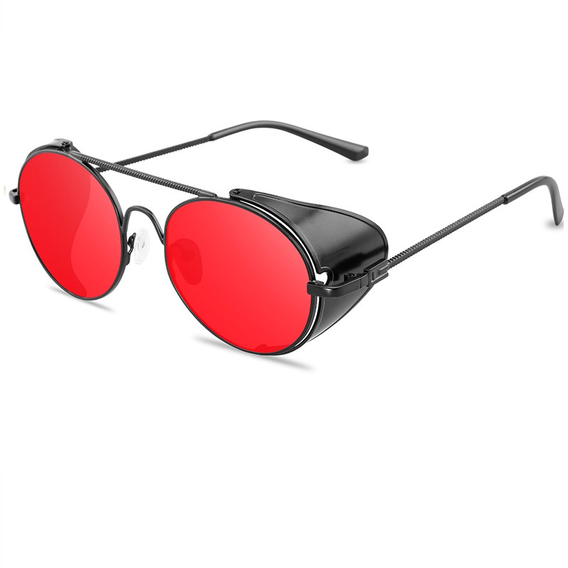 Пънк очила червени стъкла