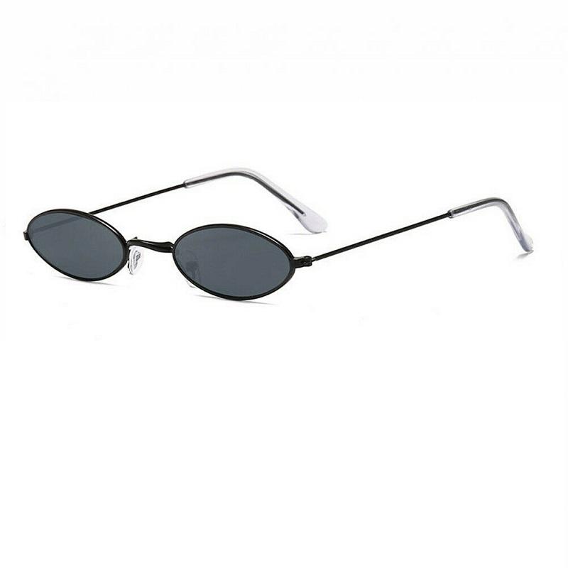 Черни овални очила