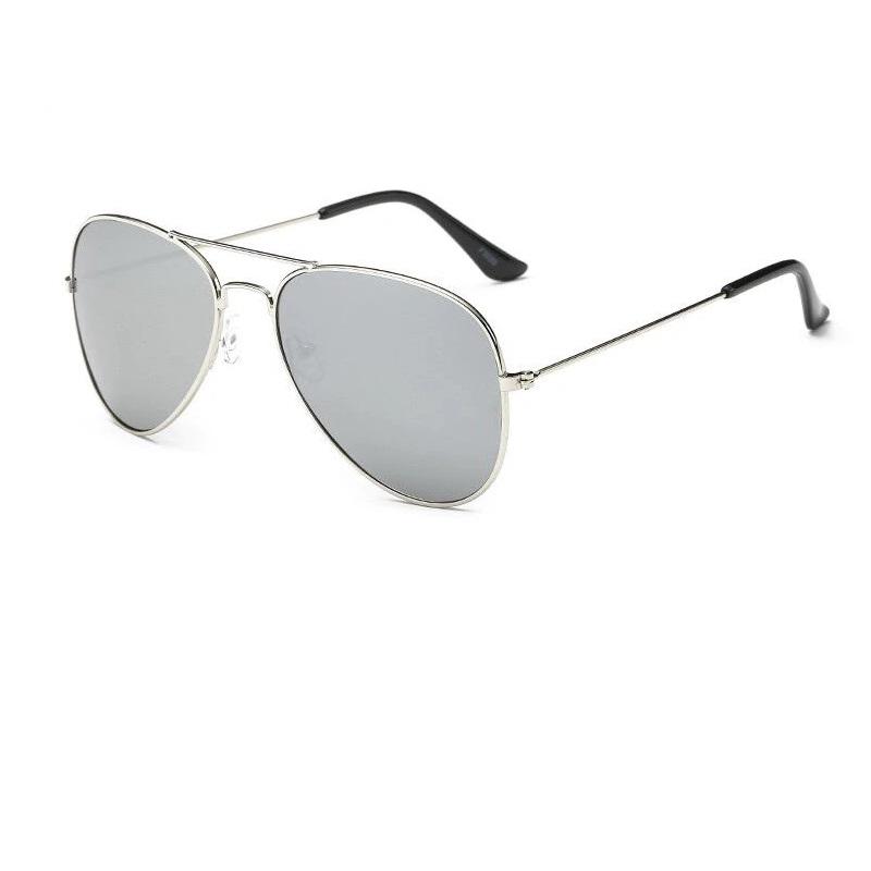 Очила с сребърна рамка бъбрек огледало