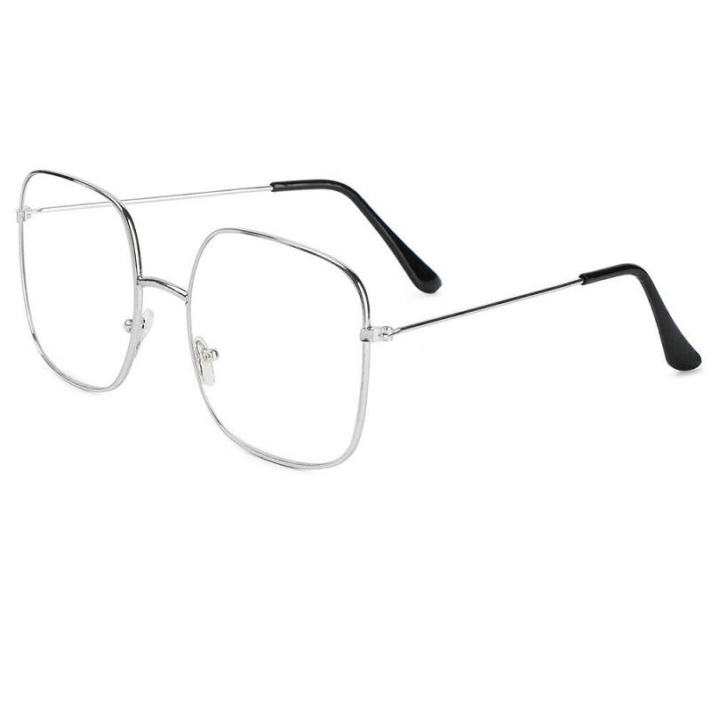 Очила за компютър с големи правоъгълни стъкла