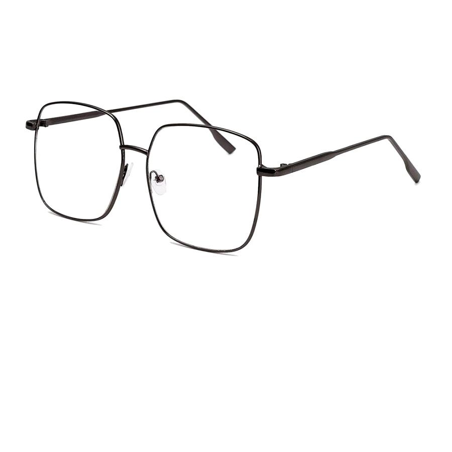 Очила за компютър с големи стъкла черни рамки