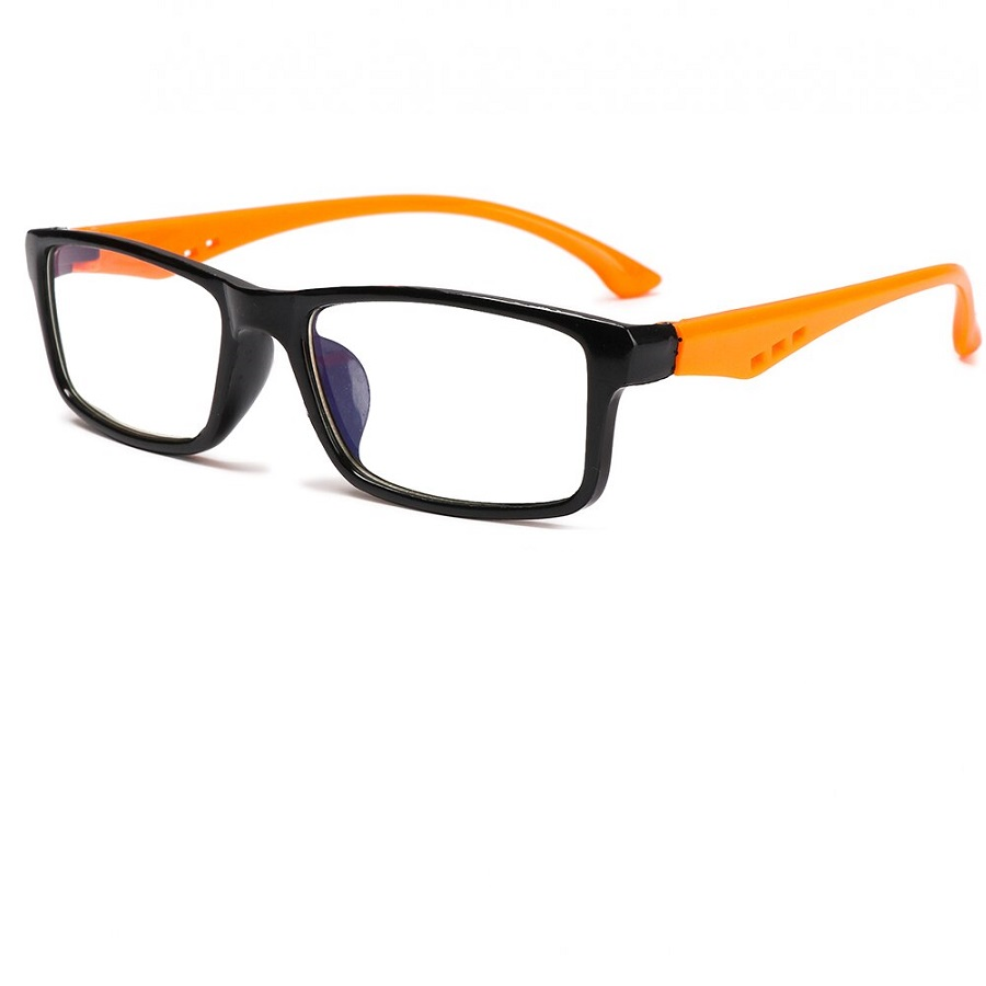 Оранжеви очила без диоптър