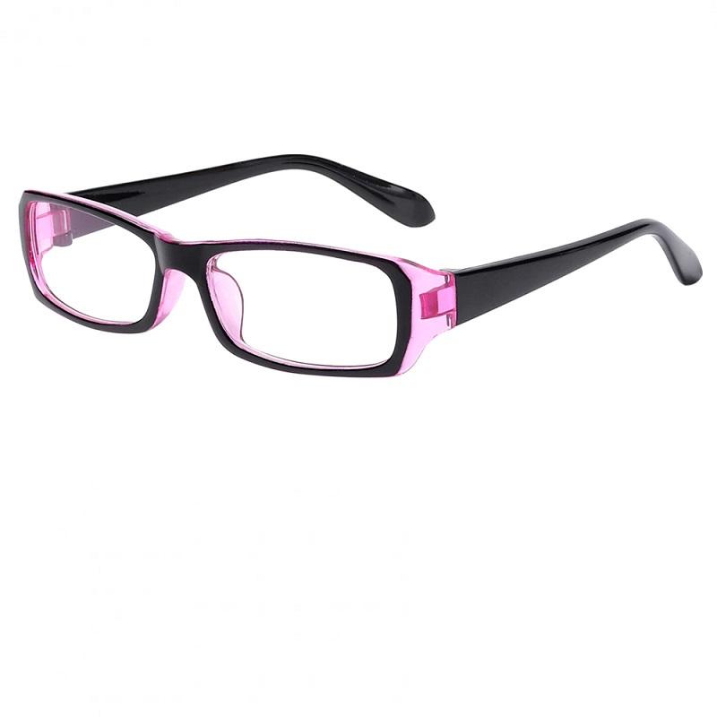 Рамки за очила в розово и черно стъкла за компютър
