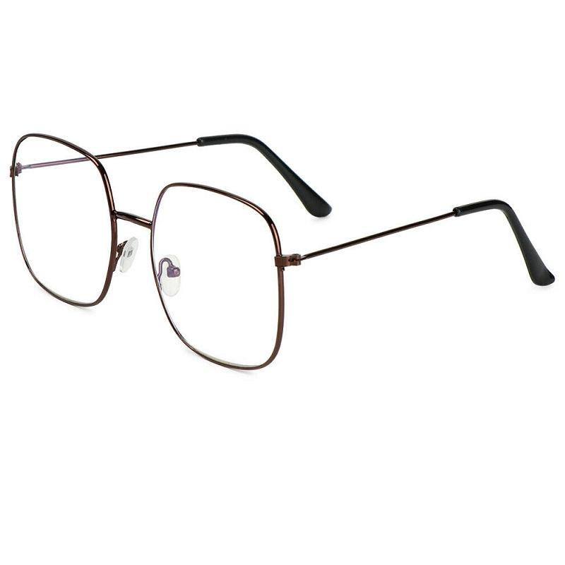 Очила за компютър кафе с големи правоъгълни стъкла