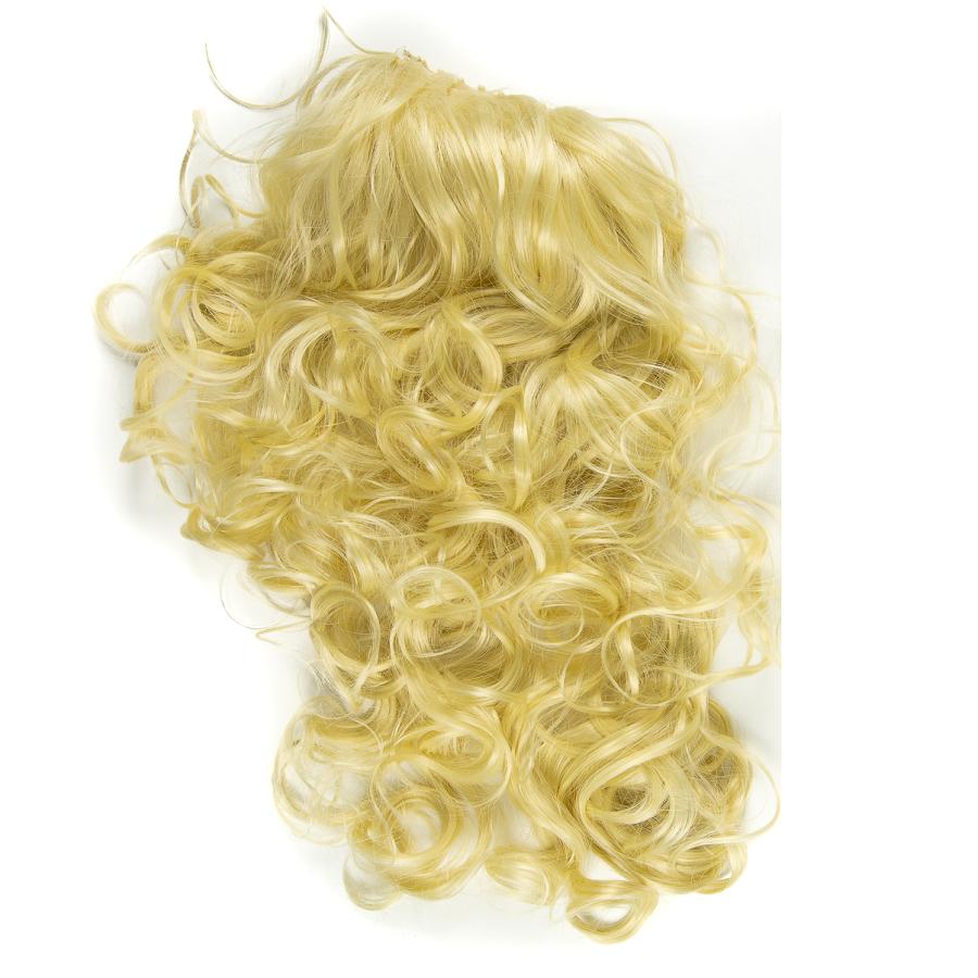 Опашка чуплив косъм светло русо