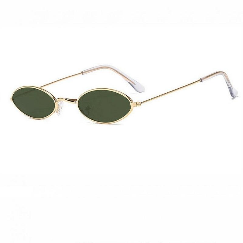 Овални очила с маслени стъкла