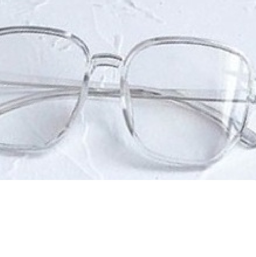 Очила с прозрачни рамки и стъкла за компютър