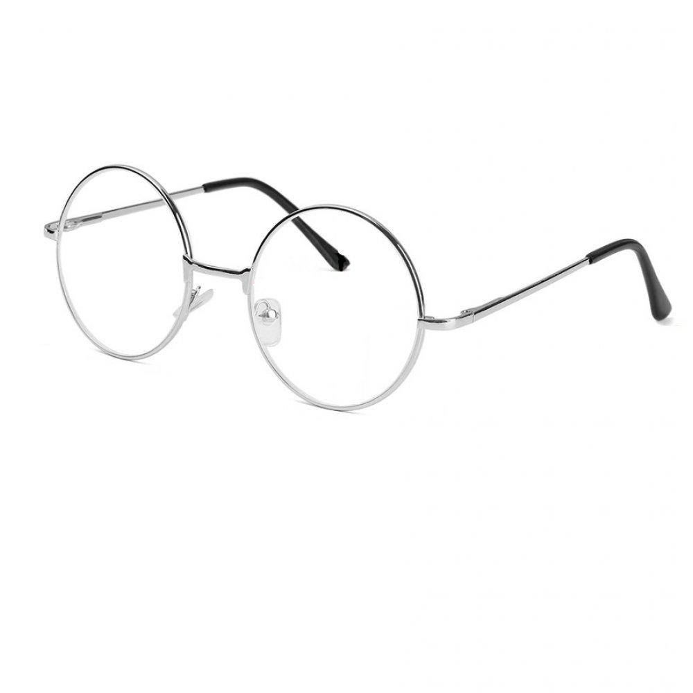 Прозрачни очила с тънки рамки в бяло