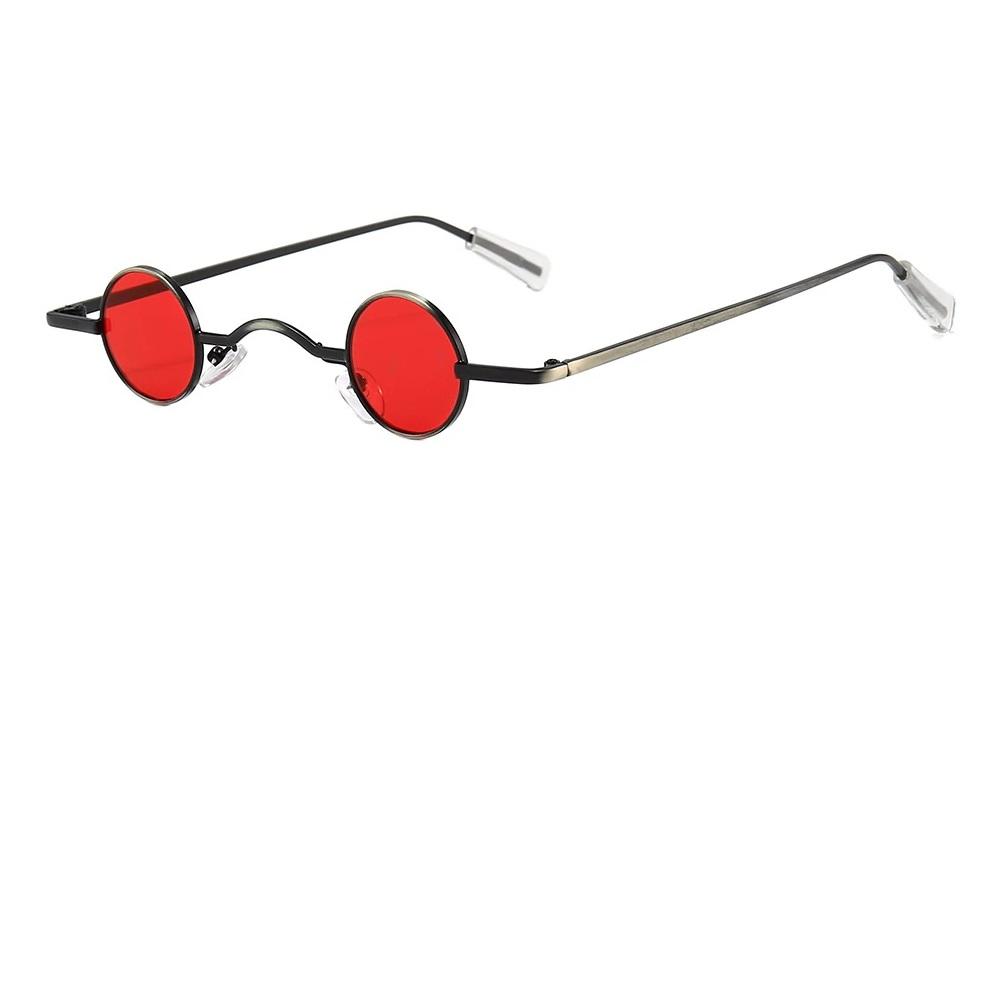 Червени очила с мини стъкла