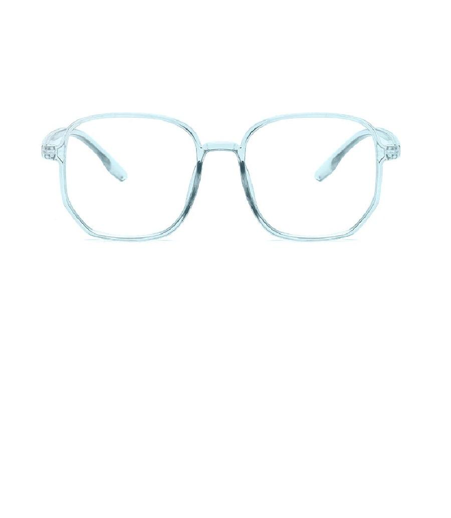 Очила с прозрачно сини рамки и стъкла за компютър