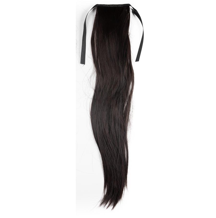 Опашка чуплив косъм с лента - кестен