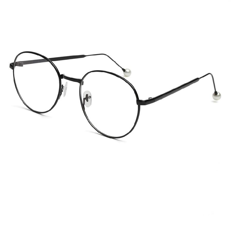 Прозрачен овал очила за компютър Anti blue light
