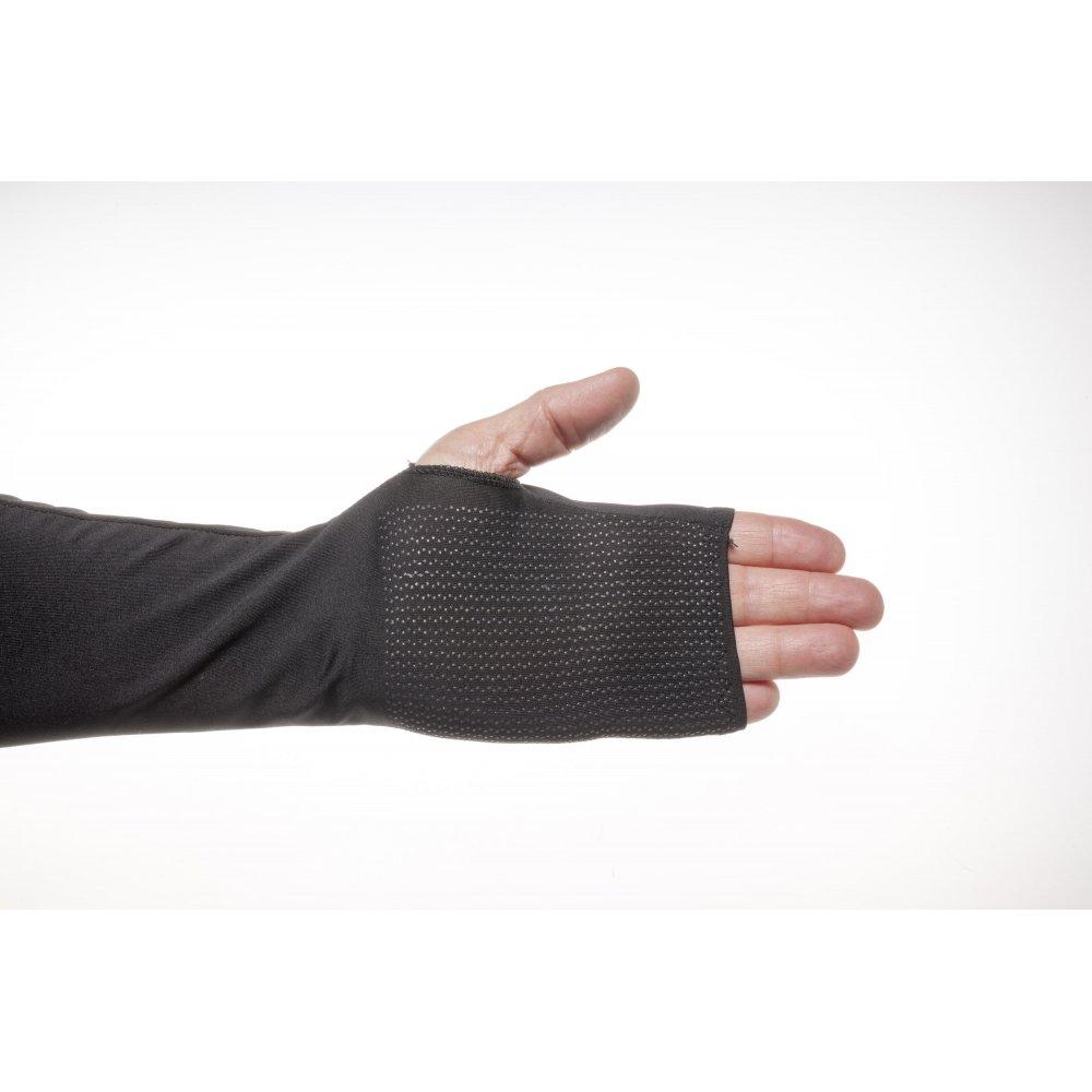 Черен ръкав с длани