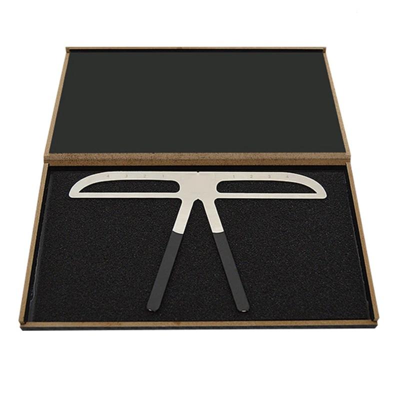 Микро блейдинг и грим метален шаблон за вежди в кутия