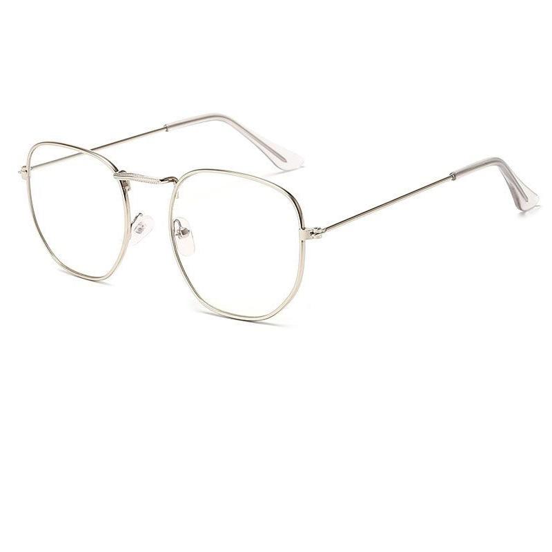 Очила за компютър големи правоъгълно овални стъкла