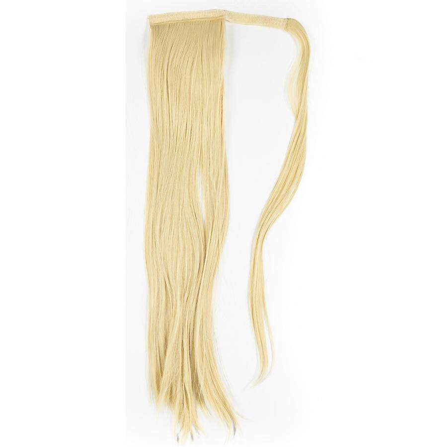 Сгъстяване и удължаване на коса руса опашка