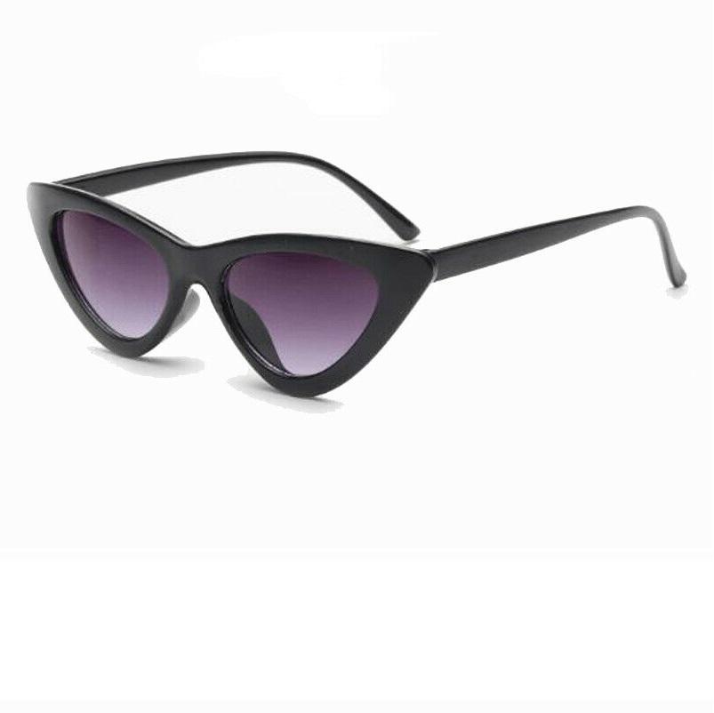 Черни изсветляващи котешки очила
