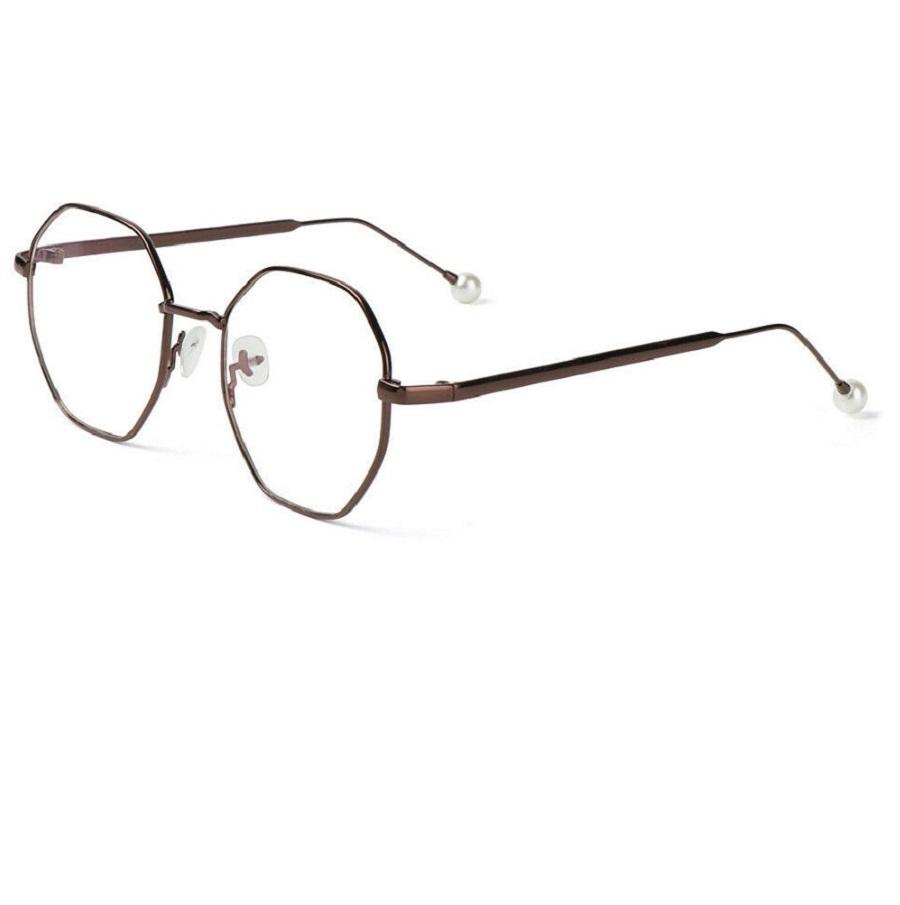 Екстравагантни дамски бронзови очила
