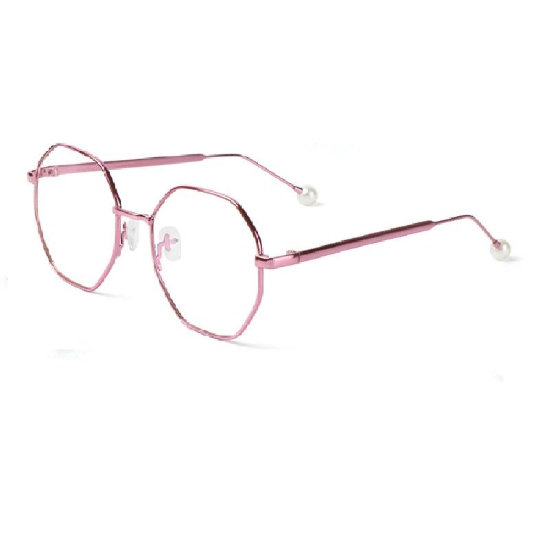 Екстравагантни дамски очила пепел от рози