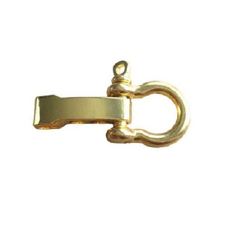 Златна катарама за гривна шегел от стомана