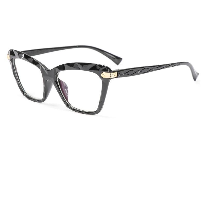 Очила котка с прозрачни стъкла
