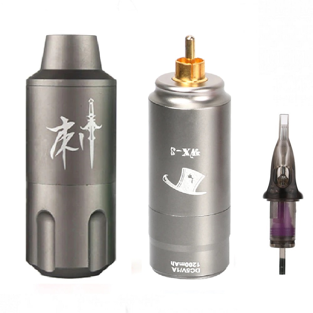 Писалка за татуировки и перманентен грим с батерия