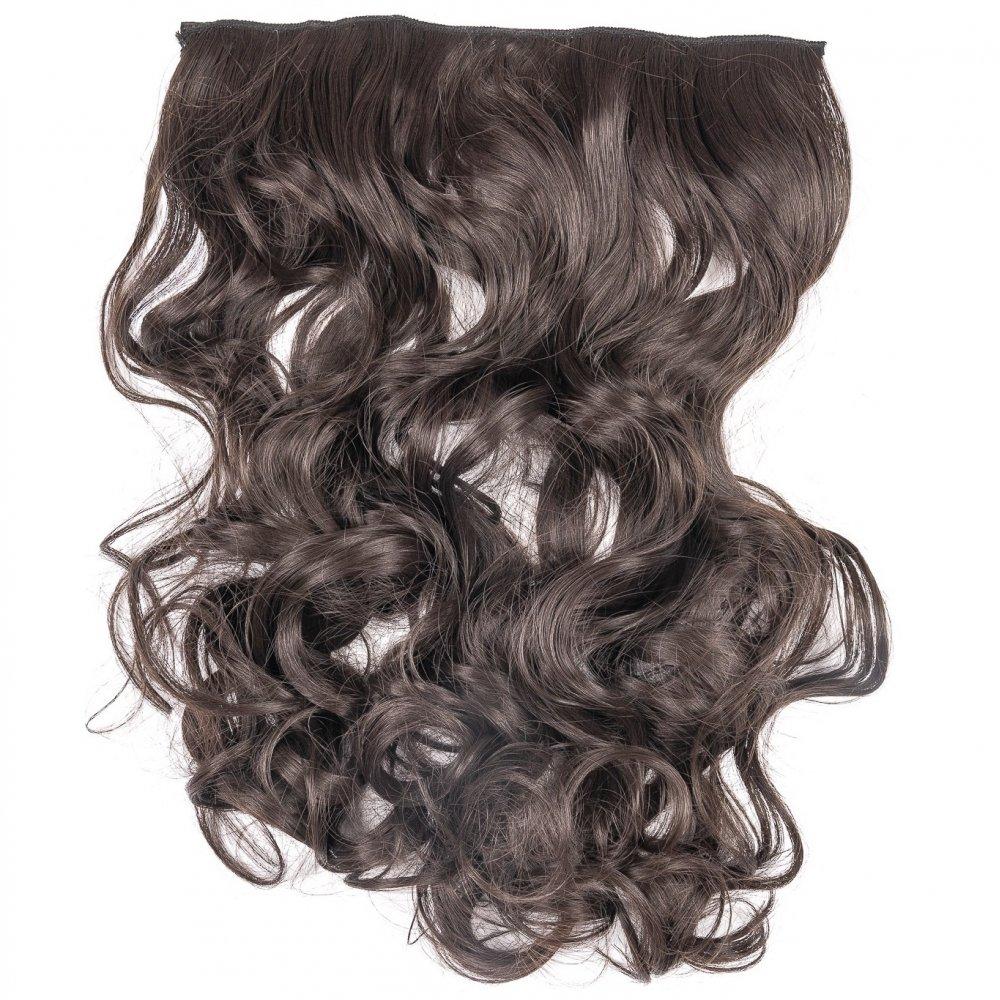 Сгъстяване на коса тъмно кафяво