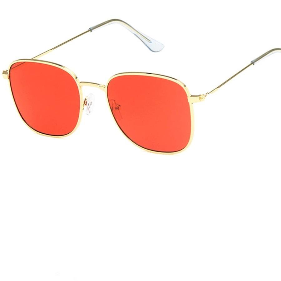 Очила с червени стъкла унисекс очила