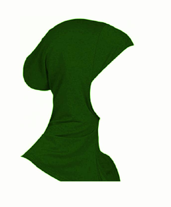 Дамско боне милитъри зелено