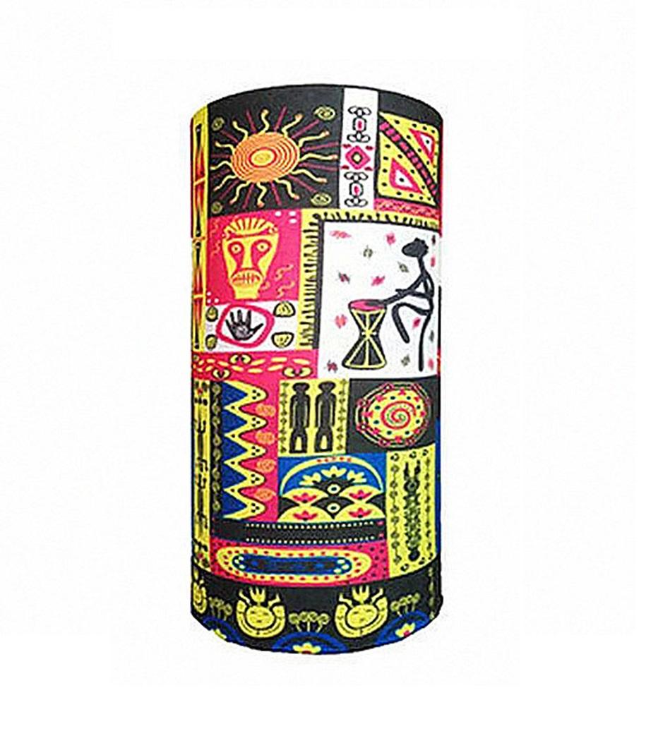 Микрофибърна кърпа - шал с африкански мотиви