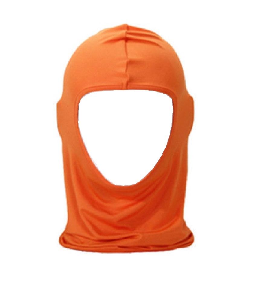Оранжева маска за мотор