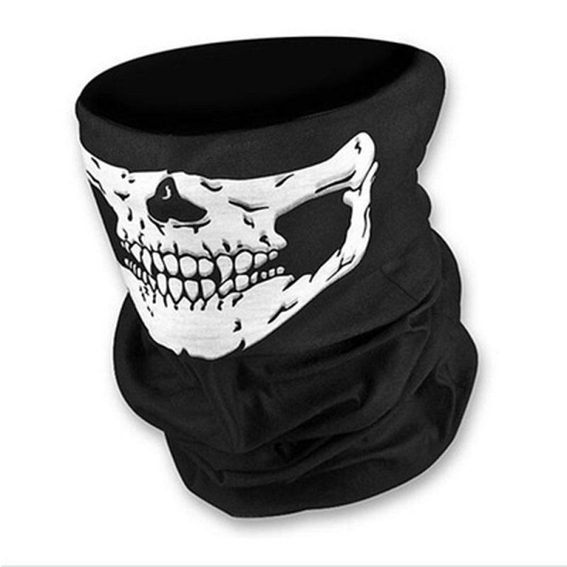 Предпазен шал с череп