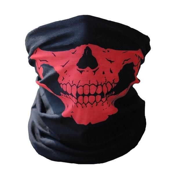 Предпазна кърпа с червени челюсти