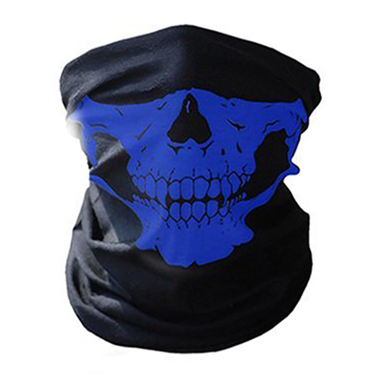 Сини челюсти чорап за глава