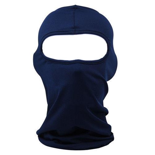 Тъмно синя маска за мотор