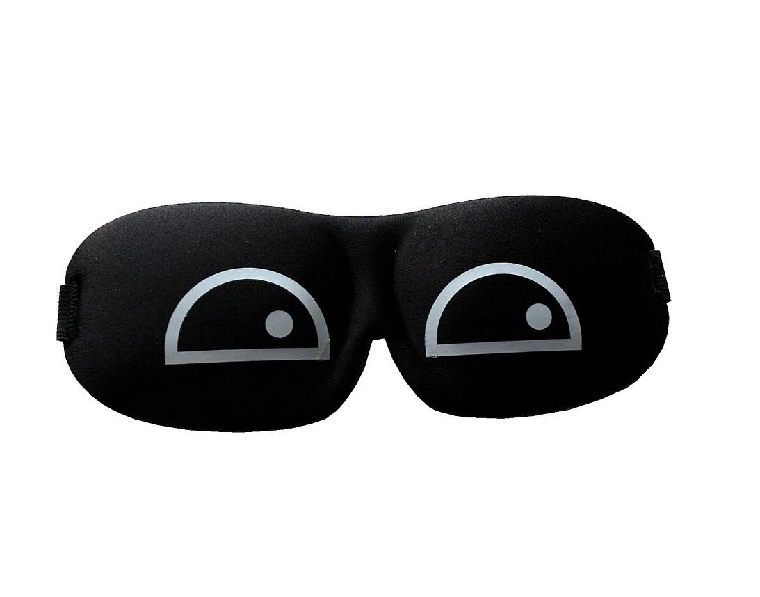 3D маска за сън притворени очи